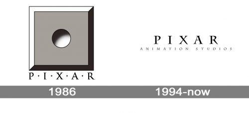 Pixar Logo history