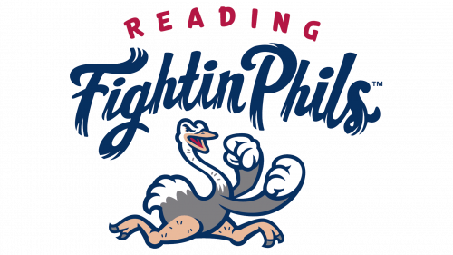 Reading Fightin Phils Logo 2013