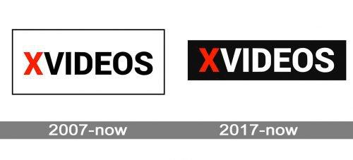 XVideos Logo history