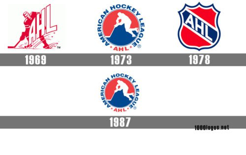 American Hockey League logo history