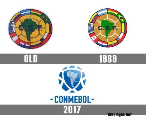 CONMEBOL logo history