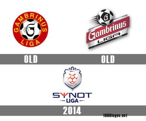 Czech First League logo history