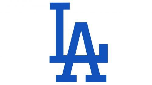 Los Angeles Dodgers logo Cap insignia