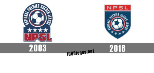 National Premier Soccer League logo history