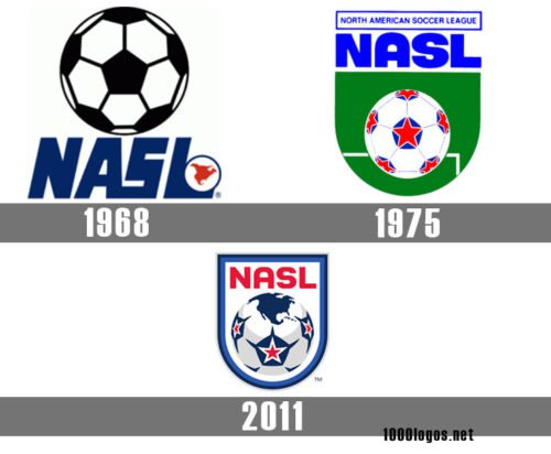 North American Soccer League logo history