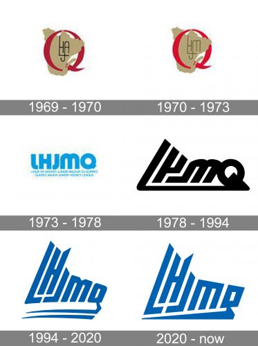 Quebec Major Jr Hockey League Logo history