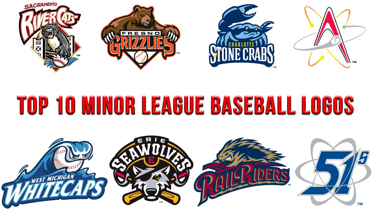 Top 10 Minor League Baseball logos