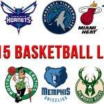 Top 15 Basketball Logos
