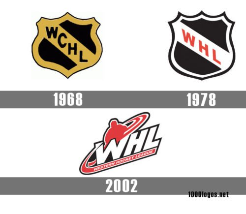 Western Hockey League WHL logo history