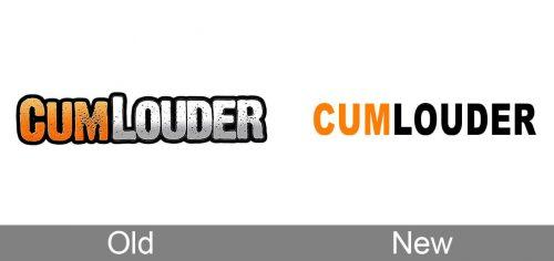 CumLouder Logo history
