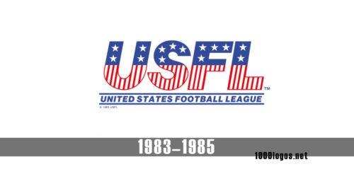 United States Football League USFL logo history