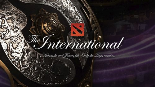 dota 2 international logo