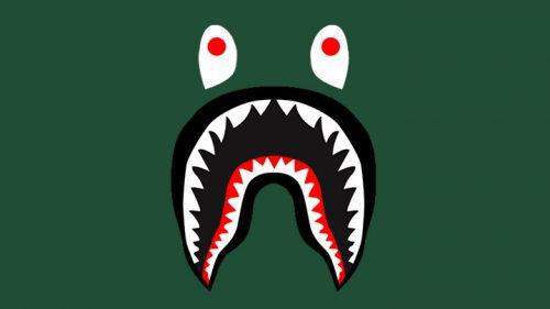 Shark logo bape
