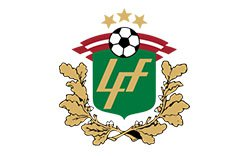 Latvian Higher League logo