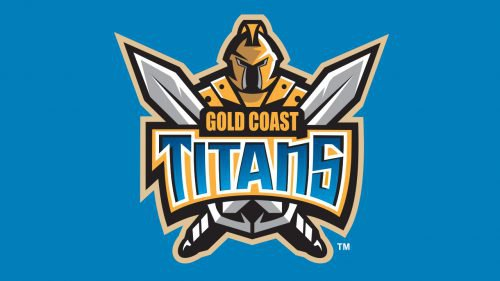 Gold Coast Titans logo rugby