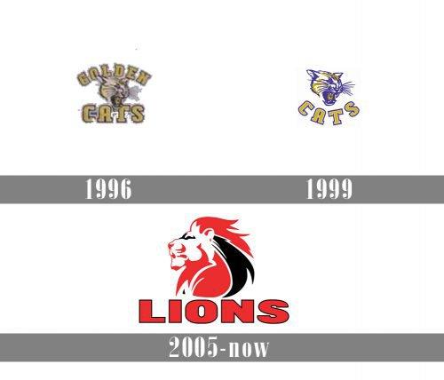 Lions logo history