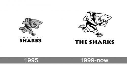 Sharks Logo history