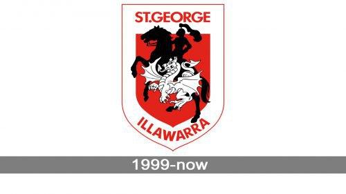 St. George Illawarra Dragons logo history