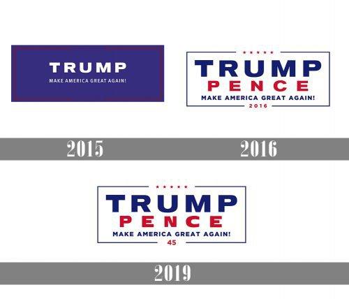 Trump Logo history