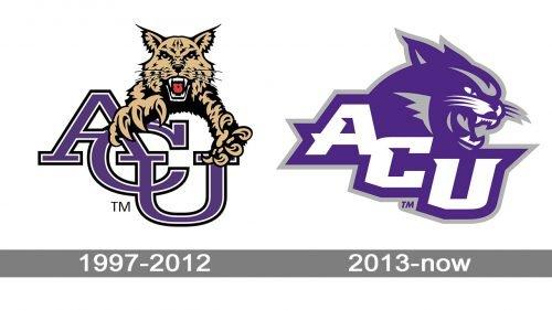 Abilene Christian Wildcats Logo history