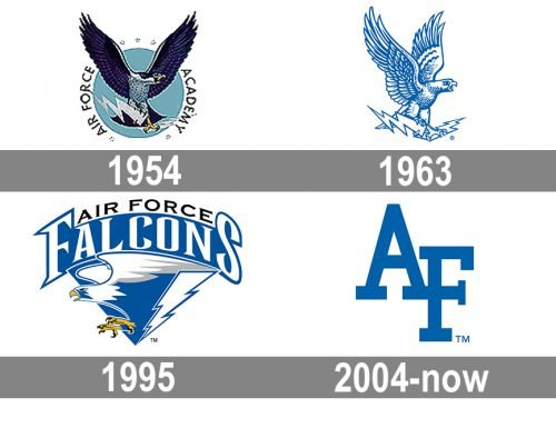 Air Force Falcons Logo history