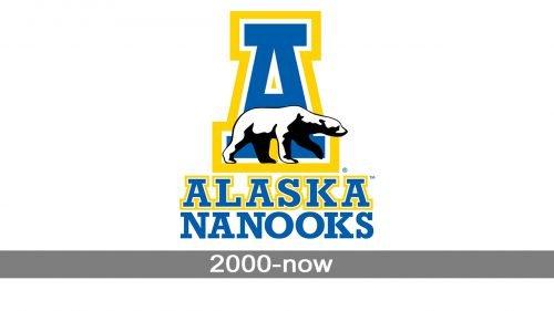 Alaska Nanooks Logo history
