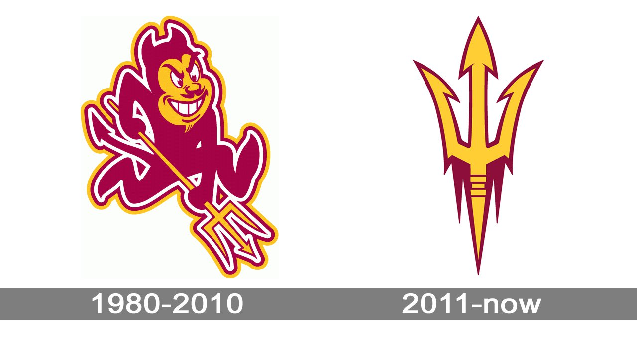 arizona state sun devils logo evolution history and meaning arizona state sun devils logo