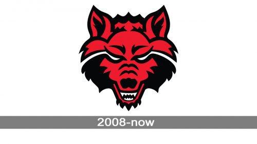 Arkansas State Red Wolves Logo history