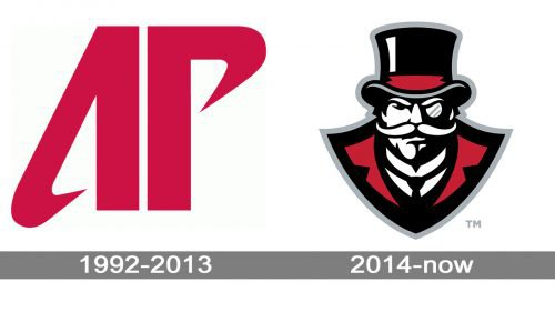 Austin Peay Governors Logo history