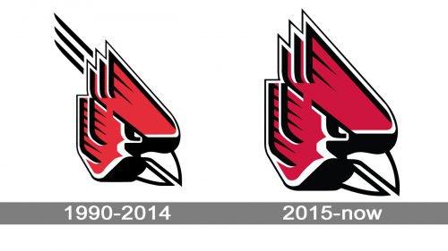 Ball State Cardinals Logo history