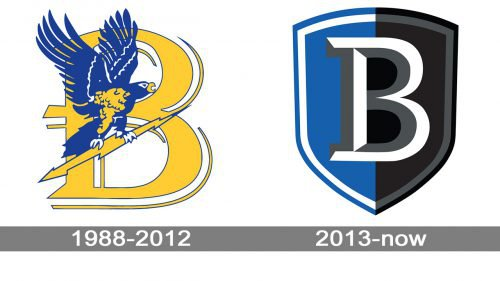 Bentley Falcons Logo history