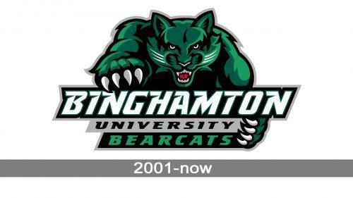 Binghamton Bearcats Logo history