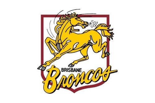 Brisbane Broncos Logo 1988