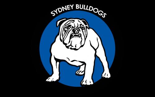 Canterbury Bankstown Bulldogs Logo 1995