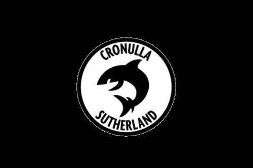Cronulla Sutherland Sharks Logo 1970