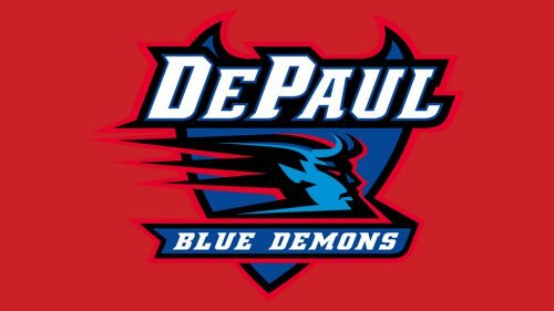 DePaul Blue Demons basketball logo
