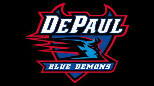 DePaul Blue Demons softball logo