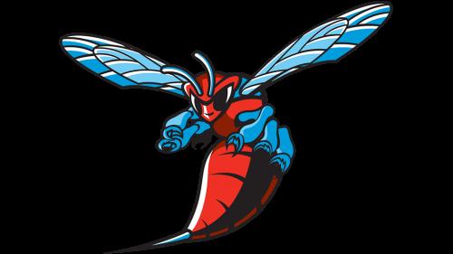 Delaware State Hornets Logo