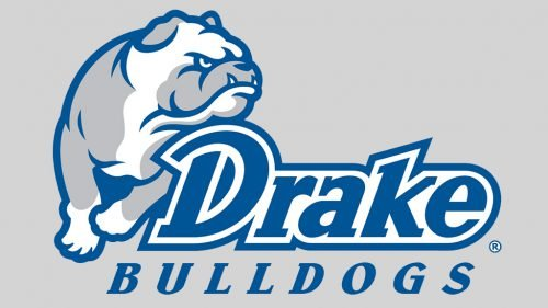 Drake Bulldogs basketball logo