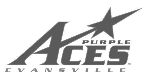Evansville Purple Aces baseball logo