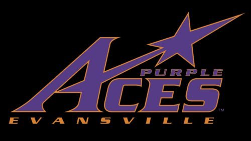 Evansville Purple Aces basketball logo