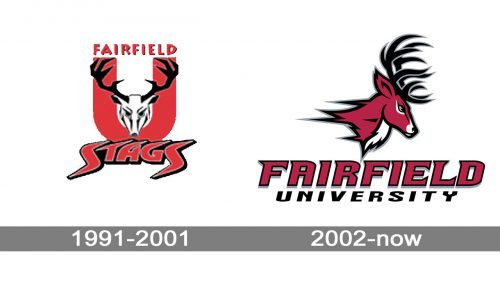 Fairfield Stags Logo history