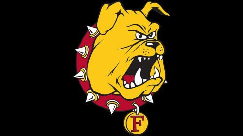 Ferris State Bulldogs ice hockey logo