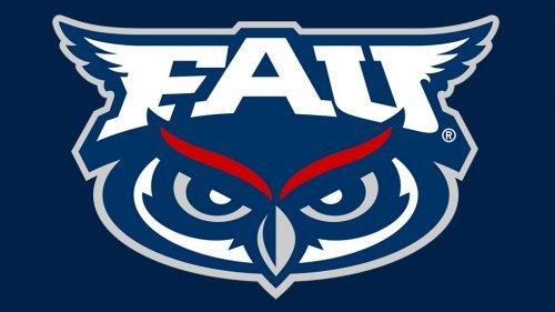 Florida Atlantic Owls football logo