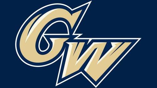 George Washington Colonials baseball logo