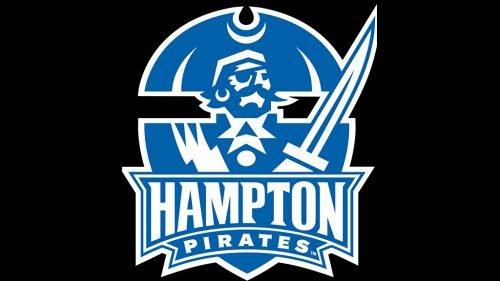 Hampton Pirates basketball logo