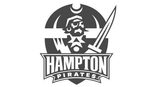 Hampton Pirates football logo