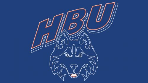 Houston Baptist Huskies baseball logo