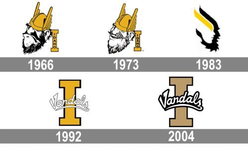 Idaho Vandals Logo history