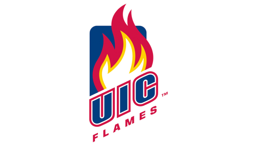 Illinois-Chicago Flames Logo